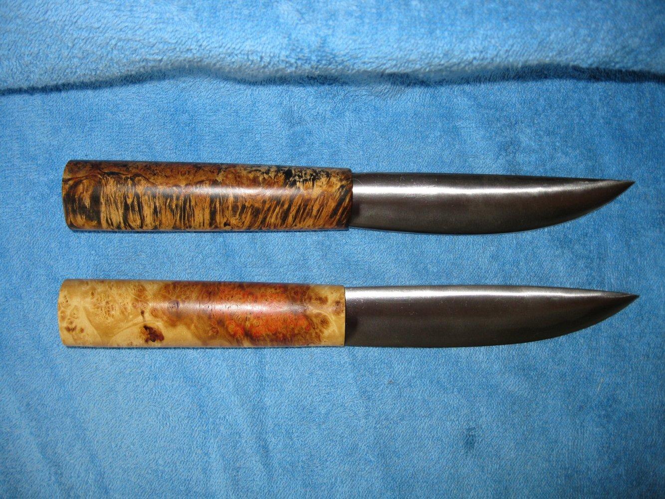 Как сделать якутских ножей