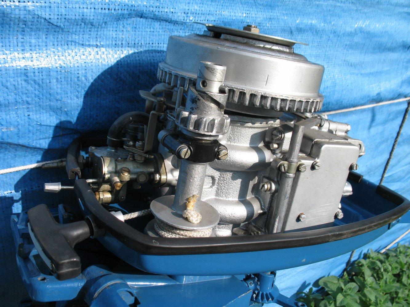 Ремонт лодочного мотора ветерок 8 зажигание
